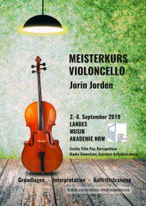 Meisterkurs Violoncello Jorin Jorden - Heek